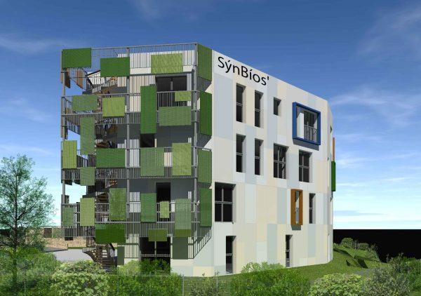 Quartier nouveau Saint Roch à Montpellier